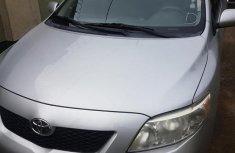 Very near interior Toyota Corolla 2010 Silver color for sale