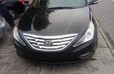 Tokunbo  Hyundai Sonata 2012 Black color for sale