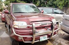 Toyota Tundra 2005 Red for sale