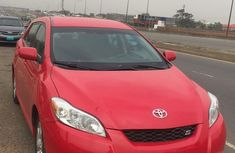 Car in perfect working condition Toyota Matrix 2009 Red color for sale