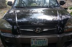 Buy and drive  Hyundai Tucson 2008 Black color for sale