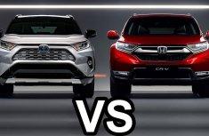 [Expert car compare] 2019 Honda CR-V versus 2019 Toyota RAV4