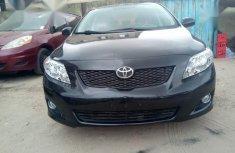 Toyota Corolla 1.8 Exclusive Automatic 2009 Black color for sale