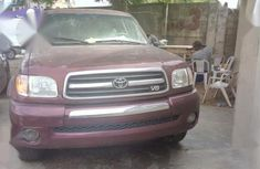 Toyota Tundra 2003 Red for sale
