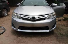 Very neat Direct tokunbo  Toyota Camry 2012 Silver color for sale