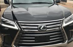 Lexus Lx570 2016 Black for sale