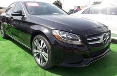 Mercedes-Benz C300 2015 Black color for sale