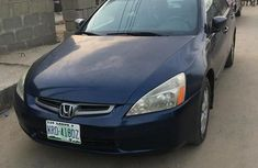 Very clean Honda Accord 2005 Automatic Blue color for sale