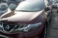Nissan Murano 2014 Red for sale