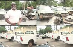 Ondo government set to refurbish 300 abandoned govt. vehicles