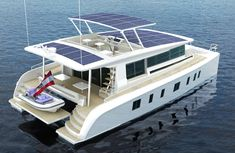 Tesla on the water! First solar powered yacht is the ₦1.8bn Silent 80