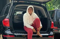 Regina Daniels adds Mercedes Benz GL450 SUV to her car collection