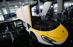 Paris considering flying cars for public transport network
