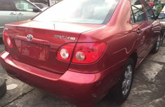 2006 Toyota Corolla  Red Colour