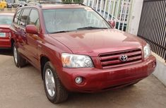 2004 Toyota Highlander Limited Edition