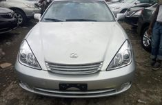 Foreign Used Lexus ES 300 2002 Model Silver for Sale