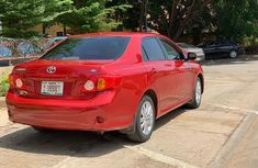Foreign used 2008 Toyota Corolla with Dealer's Number