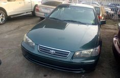 Tokunbo Clean Toyota Camry 2001 Dark Green. Vvti engine power