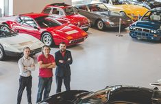 The massive Ferrari car collection at London biggest car showroom: a new type of tourist attraction?