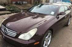 Sell cheap red 2008 Mercedes-Benz CLS at mileage 60 in Ikeja
