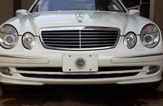 Grey/silver 2003 Mercedes-Benz E320 for sale at price ₦2,800,000