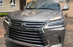 Sell well kept 2017 Lexus LX automatic at price ₦39,999,999