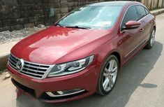 Volkswagen CC Lux 2013 Red for sale