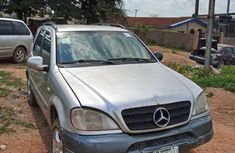 Grey 2001 Mercedes-Benz ML320 automatic at mileage 85,000 for sale in Ibadan