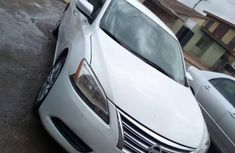 Nissan Sentra 2013 FE+SV White for sale