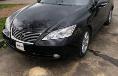 Used black 2008 Lexus ES automatic at mileage 84,000 for sale