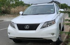 Lexus RX 350 2011 White for sale