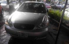 Black 2004 Toyota Corolla sedan automatic for sale at price ₦1,200,000