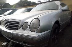 Mercedes-Benz E550 2002 Silver for sale