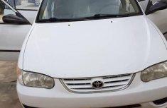 Toyota Corolla 2001 White for sale