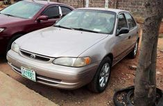 Clean beige 2001 Toyota Corolla car for sale at attractive price