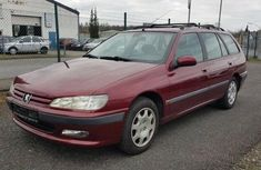 Red 1998 Peugeot 406 hatchback for sale at price ₦1,100,000 in Lagos