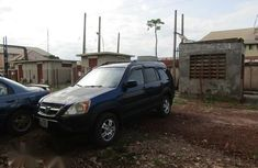 Blue 2002 Honda CR-V suv / crossover for sale at price ₦900,000 in Enugu