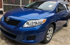 Need to sell used blue 2009 Toyota Corolla automatic at cheap price