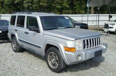 Jeep Commander 3.7 2007 Silver for sale