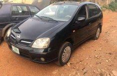 Sell used black 2004 Nissan Almera Tino sedan manual at cheap price