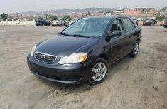 Sell used black 2008 Toyota Corolla sedan automatic in Abuja