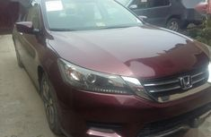 Sell used red 2014 Honda Accord automatic at price ₦3,850,000