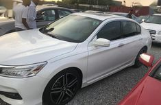 Need to sell white 2017 Honda Accord sedan at price ₦9,300,000