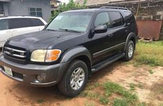 Sell cheap black 2004 Toyota Sequoia at mileage 89,304 in Lagos
