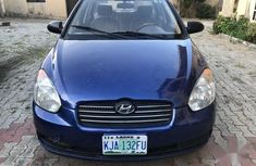 Well maintained 2007 Hyundai Accent sedan manual for sale