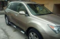 Well maintained beige 2008 Acura MDX at mileage 54,740 for sale
