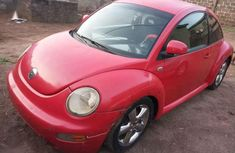 Well maintained red 2001 Volkswagen Beetle sports automatic for sale