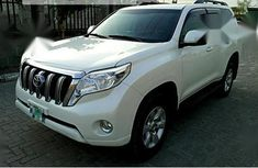 Toyota Land Cruiser Prado 2017 White for sale