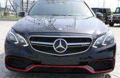 Mercedes-Benz E63 2014 Black for sale