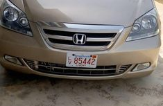 Honda Odyssey 2006 Gold for sale